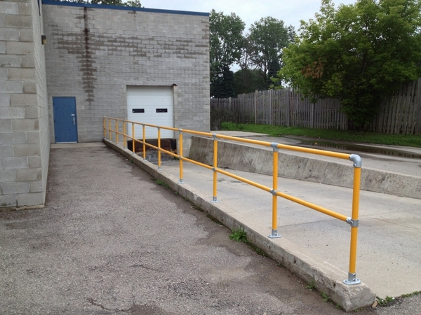 Loading Dock Railing