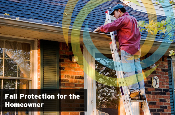 home roofing fall protection, safety harness