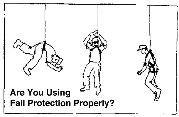 properly using fall protection are you using fall protection properly? fall protection blog
