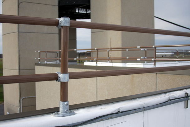 Custom Roof Parapet Railing