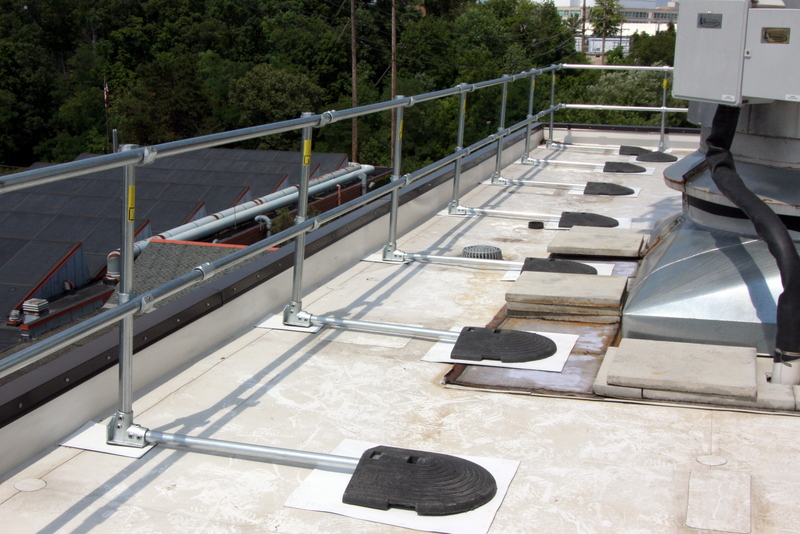OSHA-approved Guard Rail submited images.