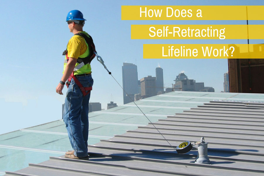 How Does A Self Retracting Lifeline Work Fall Protection Blog