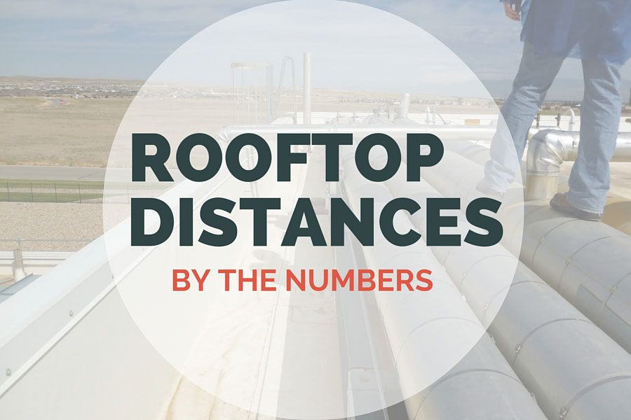 Roof Distances By The Numbers Fall Protection Blog