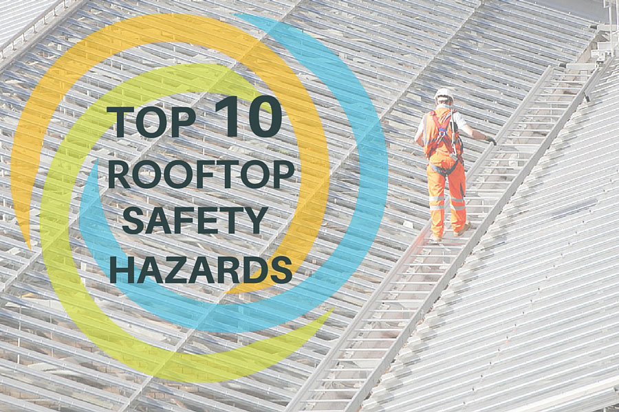 rooftop safety hazards