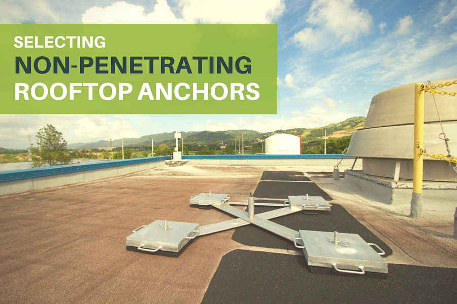 Non-Penetrating Rooftop Anchors