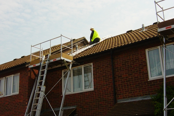 Roof Access Work Platform