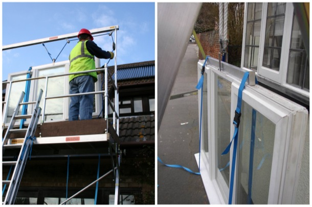 Window Installation Work Platform