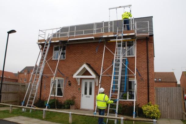 Solar Line Work Platform
