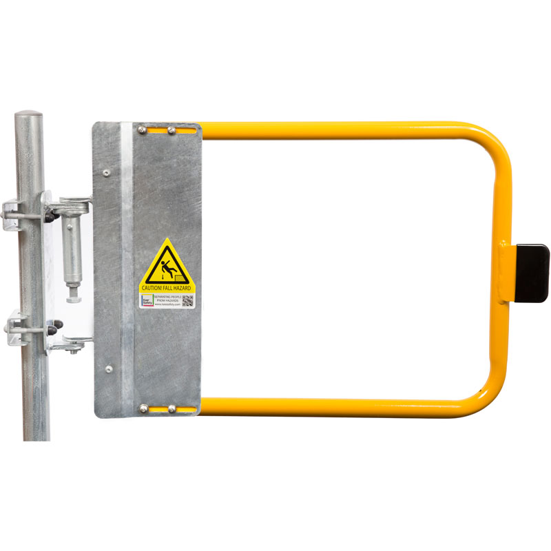 Powder Coated Yellow Industrial Safety Gates