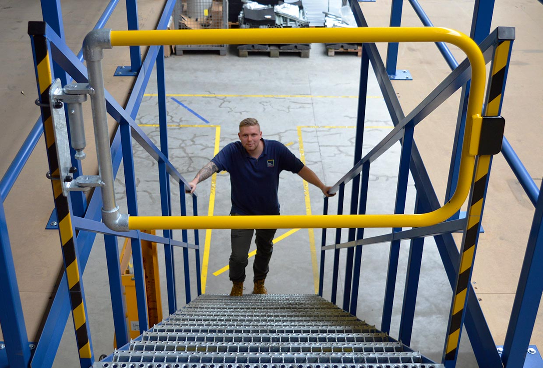 Kee Gate - Custom Width Industrial Safety Gate