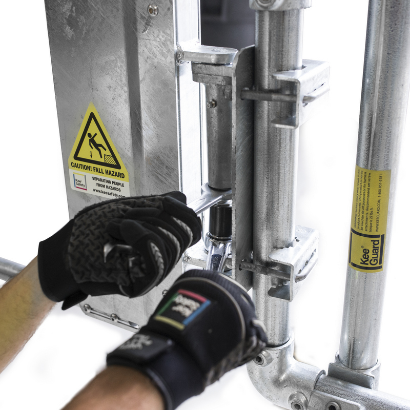 Easy to Adjust Industrial Safety Gate