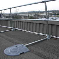 Keeguard Roof Fall Protection Railing Rooftop Guardrail