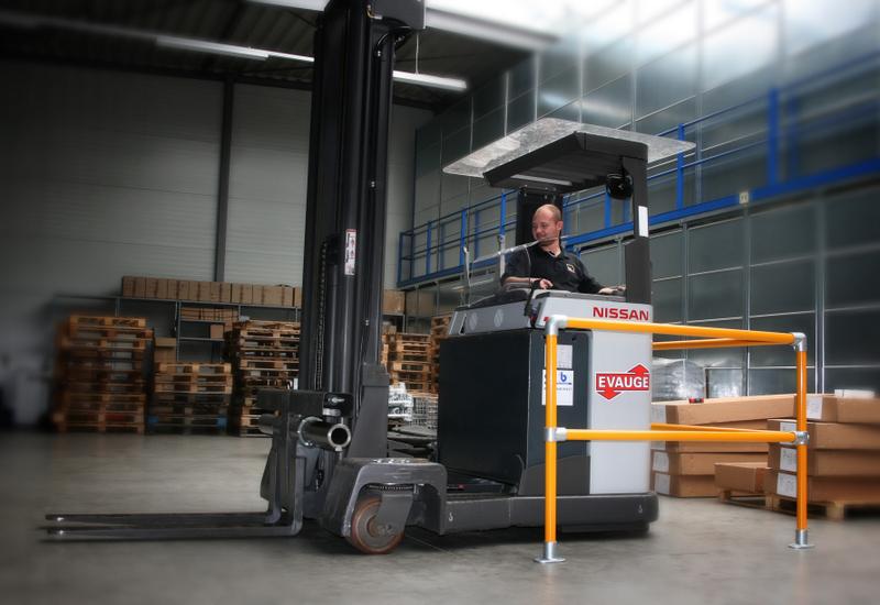 Warehouse OSHA Safety Railing