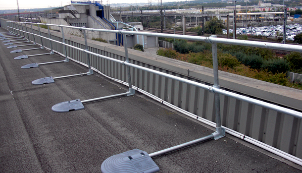 How High Does A Roof Parapet Need To Be Fall Protection