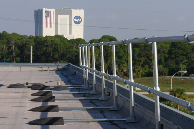 KeeGuard Fall Protection Railing at NASA