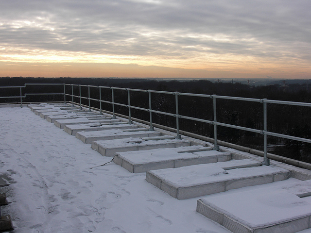 Durable Roof Guardrail