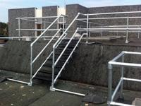 Custom Roof Height Stairs
