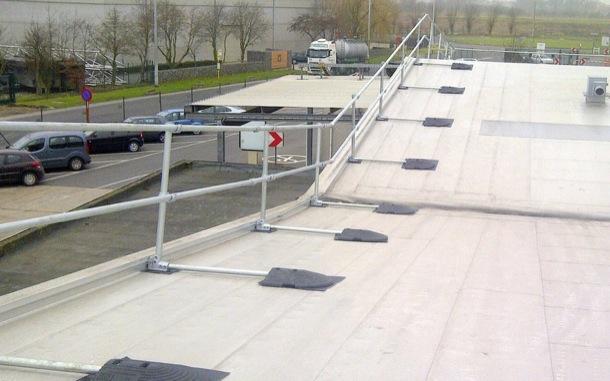 Sloped Roof Railing