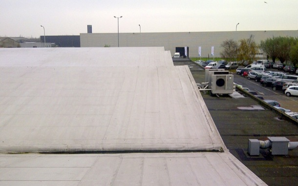 Sloped Roof Fall Protection