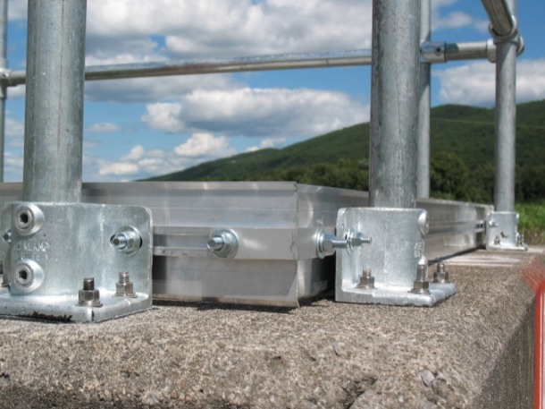 Safety Railing with Toeboard