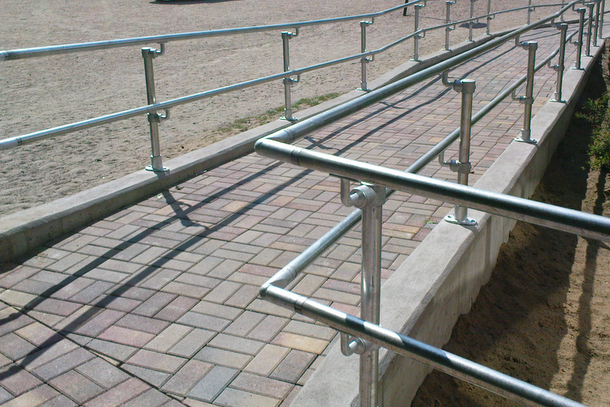 Construction Safety Railing
