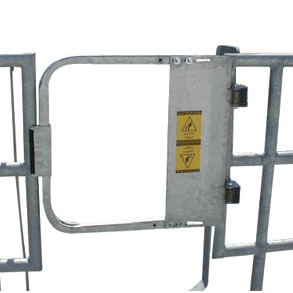 Stainless Steel Industrial Safety Gates