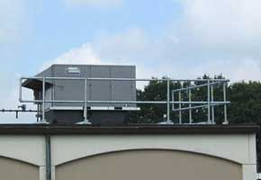 HVAC Equipment Railing