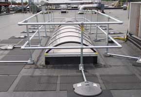 KeeGuard Perimeter Protection Railing