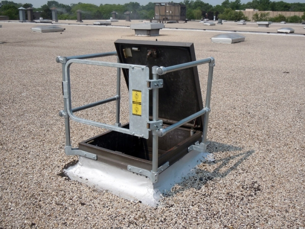 Safety Gate designed to work with KeeHatch