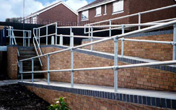 Handrail for Ramps and Wheelchair Access