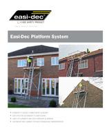 Easi-Dec Platform Cut Sheet