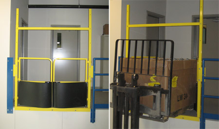 Mezzanine Gates Pallet Gates You Dont Have To Give Up