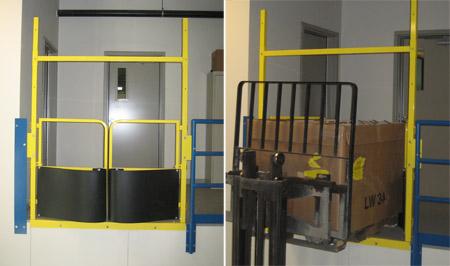 Access A Mezzanine Safely Mezzanine Gates And Platform
