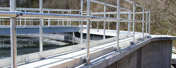 Waste Water Treatment Railing