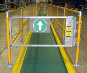 Three areas where industrial safety gates are needed fall safe walking areas sciox Image collections