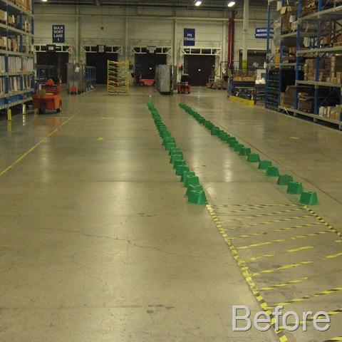 Warehouse Walkway - Unprotected