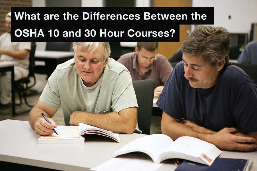What Are The Differences Between The OSHA 10 And 30 Hour