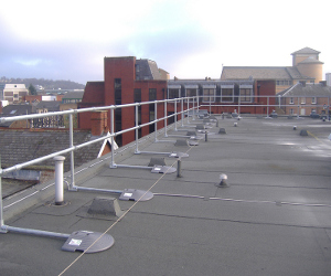 KeeGuard Non-Penetrating Roof Railing
