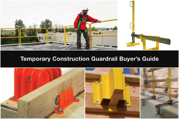 Temporary Construction Guardrail Buyer S Guide Fall