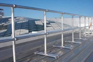 KeeGuard Topfix Metal Roof Railing